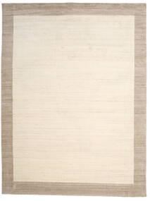 Handloom Frame - Natural/Sand Tappeto 300X400 Moderno Beige/Grigio Chiaro Grandi (Lana, India)