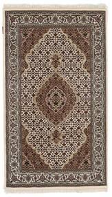 Tabriz Royal Tappeto 91X156 Orientale Fatto A Mano Marrone Scuro/Grigio Chiaro ( India)
