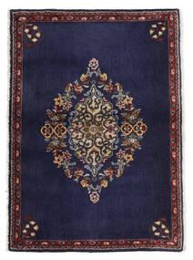 Keshan Tappeto 68X96 Orientale Fatto A Mano Porpora Scuro/Marrone Scuro (Lana, Persia/Iran)
