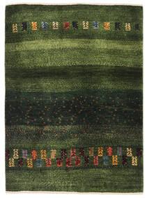 Gabbeh Persia Tappeto 91X126 Moderno Fatto A Mano Verde Scuro/Verde Oliva (Lana, Persia/Iran)