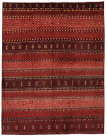 Gabbeh Persia Tappeto 156X202 Moderno Fatto A Mano Rosso Scuro/Marrone Scuro (Lana, Persia/Iran)