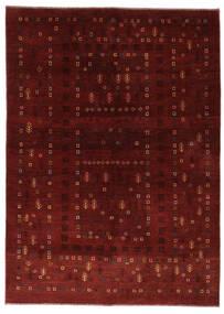 Gabbeh Persia Tappeto 150X210 Moderno Fatto A Mano Rosso Scuro/Marrone Scuro (Lana, Persia/Iran)