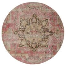 Vintage Heritage Tappeto Ø 170 Moderno Fatto A Mano Rotondo Marrone/Grigio Chiaro (Lana, Persia/Iran)