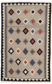 Kilim Tappeto 102X165 Orientale Tessuto A Mano Grigio Chiaro/Grigio Scuro (Lana, Persia/Iran)