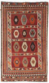 Kilim Vintage Tappeto 133X232 Orientale Tessuto A Mano Rosso Scuro/Marrone Chiaro/Marrone Scuro (Lana, Persia/Iran)