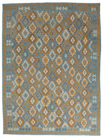 Kilim Afghan Old Style Tappeto 255X341 Orientale Tessuto A Mano Marrone Scuro/Nero Grandi (Lana, Afghanistan)