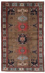 Hamadan Tappeto 121X191 Orientale Fatto A Mano Marrone Scuro/Nero (Lana, Persia/Iran)