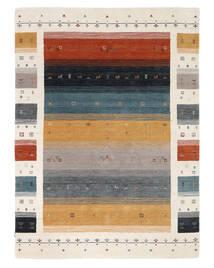Loribaf Loom Designer - Multi Tappeto 160X230 Moderno Nero/Bianco/Creme (Lana, India)