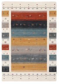 Loribaf Loom Designer - Multi Tappeto 120X180 Moderno Beige/Marrone Scuro (Lana, India)
