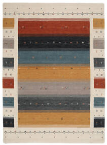 Loribaf Loom Designer - Multi Tappeto 210X290 Moderno Nero/Grigio Chiaro (Lana, India)