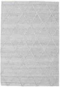 Svea - Secondario Tappeto 140X200 Moderno Tessuto A Mano Nero/Grigio Scuro (Lana, India)