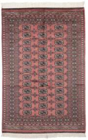 Pakistan Bukara 2Ply Tappeto 121X182 Orientale Fatto A Mano Rosso Scuro/Nero (Lana, Pakistan)