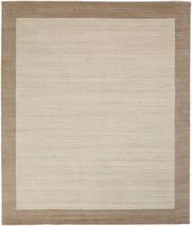 Handloom Frame - Natural/Sand Tappeto 250X300 Moderno Marrone Chiaro/Grigio Chiaro/Marrone Scuro Grandi (Lana, India)