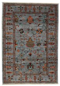 Ziegler Ariana Tappeto 103X155 Orientale Fatto A Mano Nero/Marrone Scuro (Lana, Afghanistan)