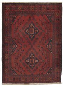 Afghan Khal Mohammadi Tappeto 82X110 Orientale Fatto A Mano Nero/Marrone Scuro (Lana, Afghanistan)