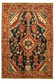 Hamadan Tappeto 138X203 Orientale Fatto A Mano (Lana, Persia/Iran)